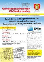 Gemeindenachrichten 1/2021